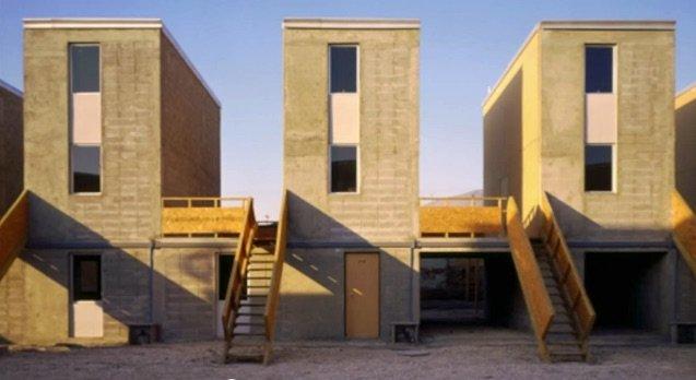 Contruccion de medias casas en Iquique