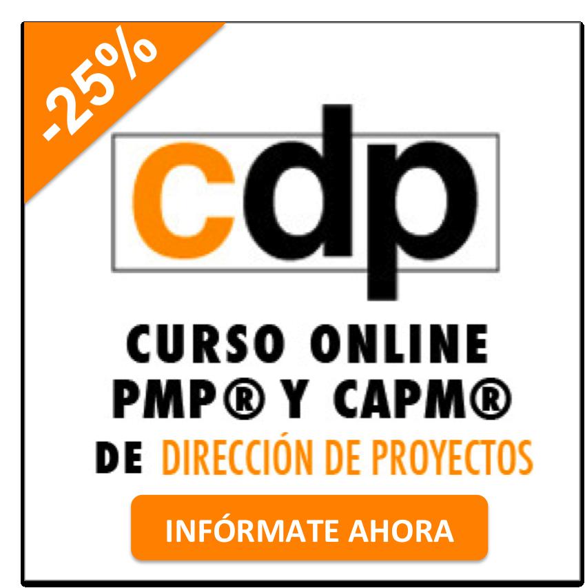 Aprovecha el ÚLTIMO mes de descuento del 25% en el mejor curso online para preparar las certificaciones PMP (R) y CAPM (R) del PMI en español¡