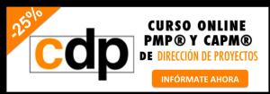 curso online pmp 25% descuento