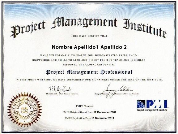 Requisitos para optar a los exámenes de certificaciones del PMI: PMP ® y CAPM ®