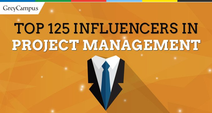 Los 125 TOP INFLUENCERS en PROJECT MANAGEMENT a nivel mundial y dos Buena noticias!