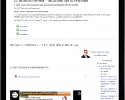 Curso online de preparación PMI-ACP
