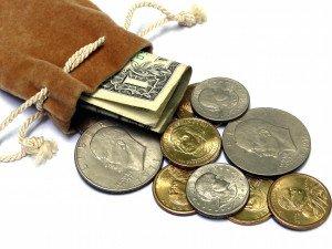 bolsa de dinero y pagos en proyectos con costes reembolsables