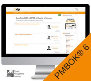 curso online certificacion direccion de proyectos pmbok6